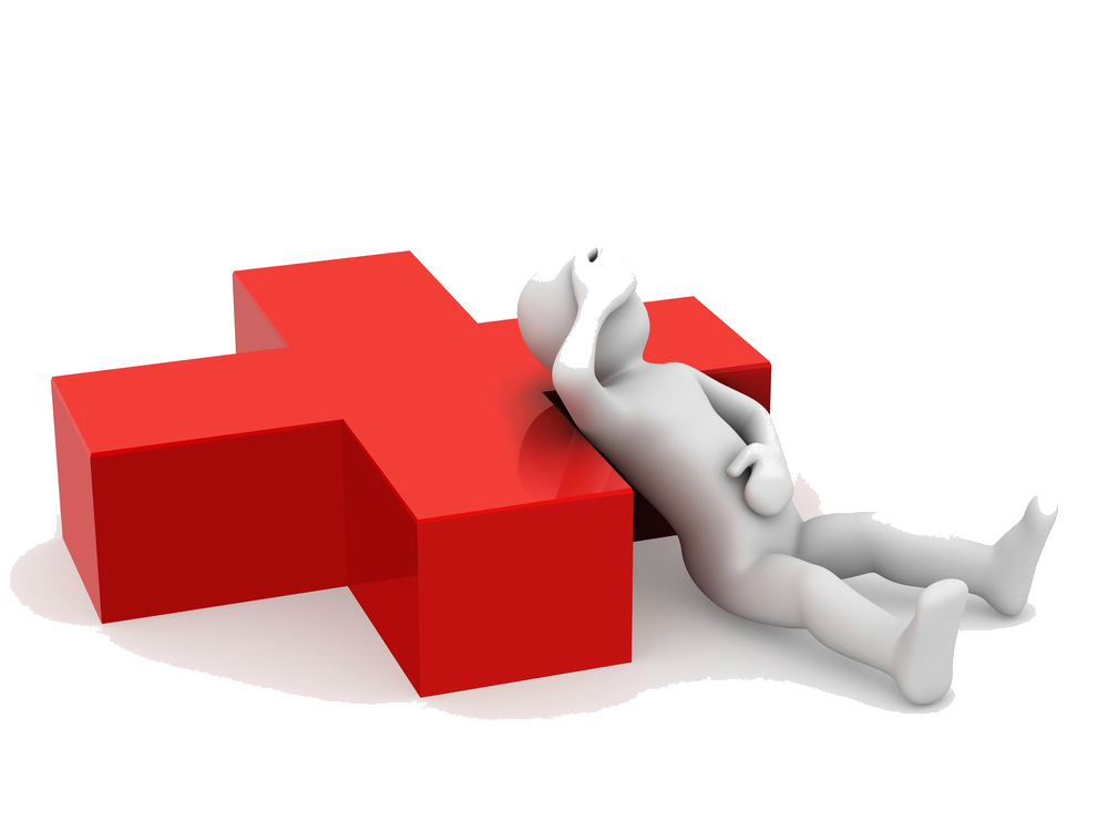 3d-man-sick-with-red-cross_21